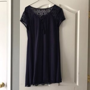 Navy Blue dress from Francesca's